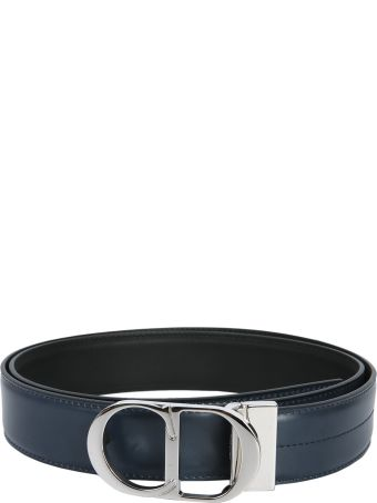 Dior Homme Belt With Iconic Metal Buckle