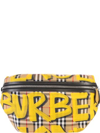 Burberry Multicolored Graffiti Belt Pack