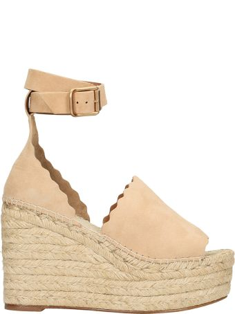 Chloé Lauren Wedge Espadrillas