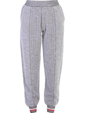 Stella McCartney Grey Chevron Motif Trousers