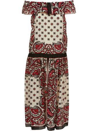 Red Valentino Printed Dress