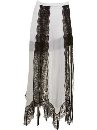 Christopher Kane Lace Trim Skirt