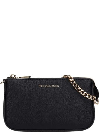 Michael Kors Md Leather Chain Wallet Bag