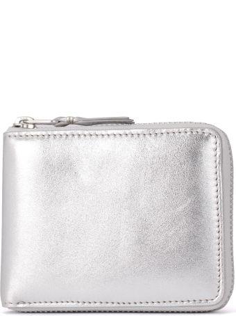 Comme des Garçons Wallet Comme Des Garçons Silver Leather Wallet