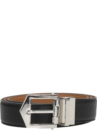 Givenchy Black Leather Belt