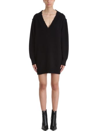 T by Alexander Wang Distressed Sweater Dress