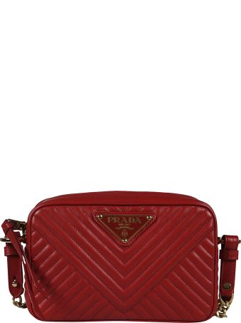 Prada Matelassé Shoulder Bag