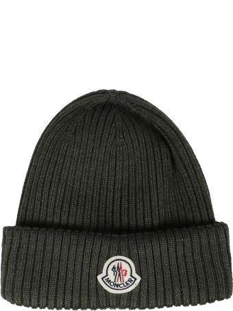Moncler Ribbed Knit Beanie
