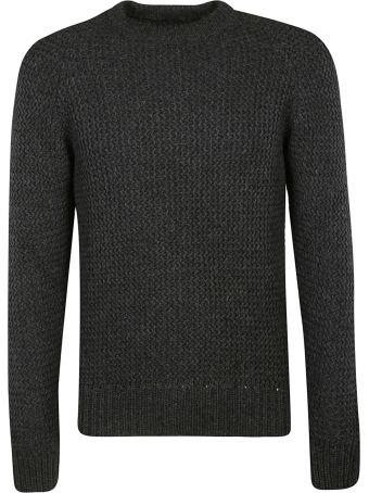 Woolrich Knitted Slim Fit Sweater