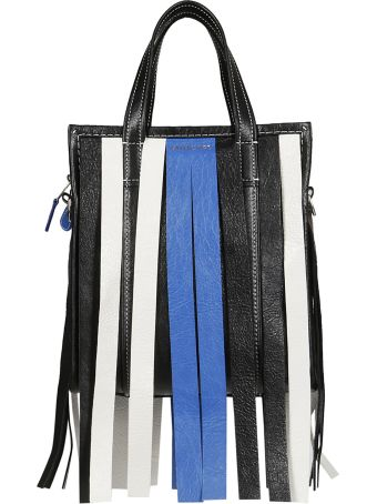 Balenciaga Fringe Detail Shoulder Bag