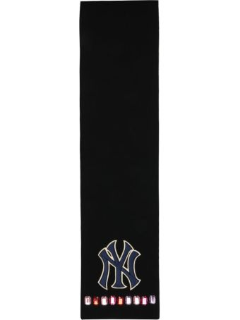 Gucci Ny Yankees Wool Scarf