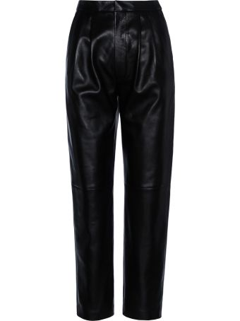 Saint Laurent Paris Leather Pant