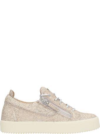 Giuseppe Zanotti Low Glitter Zip Sneakers