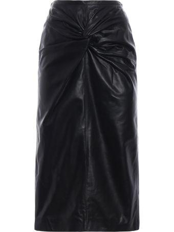 N.21 Leather Skirt