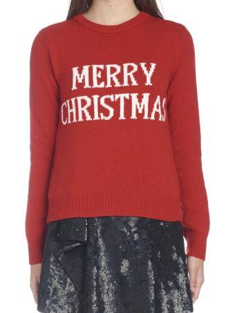 Alberta Ferretti 'merry Christmas' Sweater