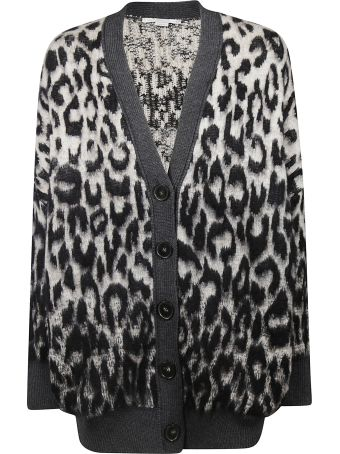 Stella McCartney Leopard Print Cardigan