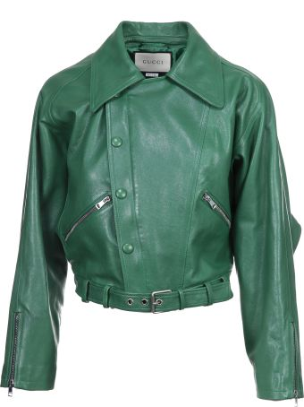 Gucci Cropped Biker Jacket
