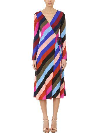 Diane Von Furstenberg Midi Wrap Dress