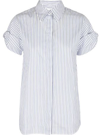 Victoria Beckham Layered Striped Shirt