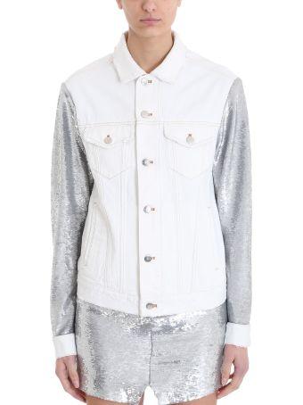IRO Nanopo Sequins Denim Jacket