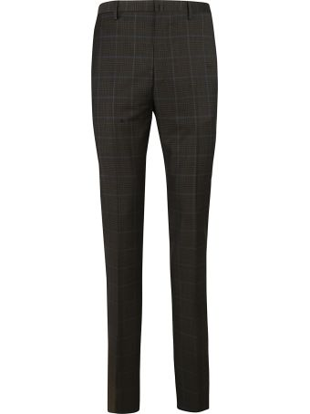 Lanvin Tailored Print Trousers