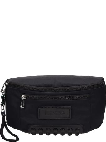 Kenzo Black Nylon Belt-bag