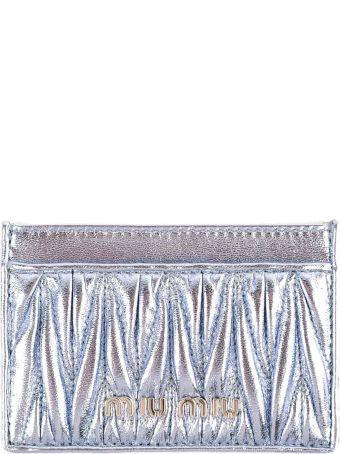 Miu Miu Metallic Card Case