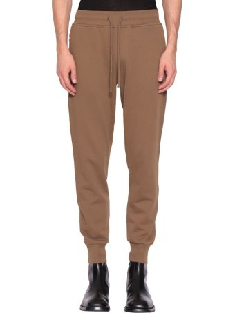 Dries Van Noten Khaki Cotton Sweatpants