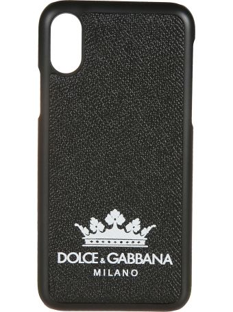 Dolce & Gabbana Crown Logo Iphone X Cover