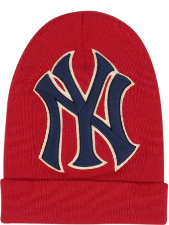 Gucci Ny Yankees Wool Beanie