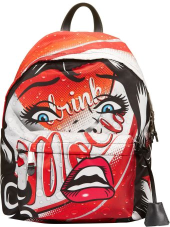 Moschino Graphic Printed Backpack