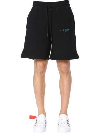 Off-White Shorts With Logo Print