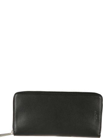 Michael Kors Embossed Logo Zip Around Wallet