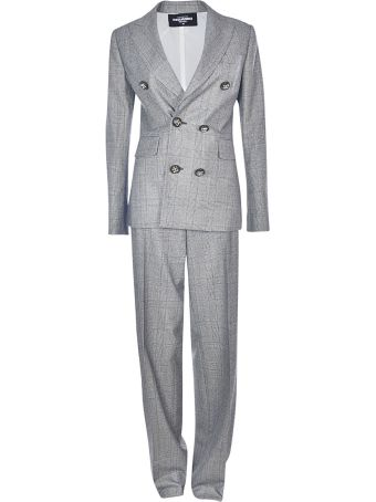 Dsquared2 Checked Suit