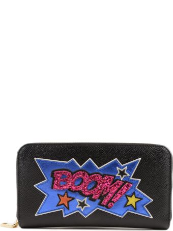 Printed Boom Zip Around Wallet