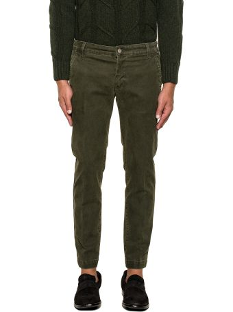 Entre Amis Military Green Trousers