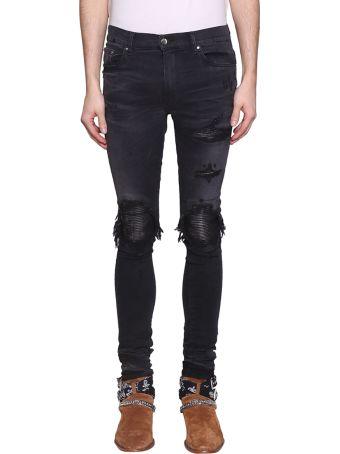 AMIRI Mx1 Aged Black Classic Jeans