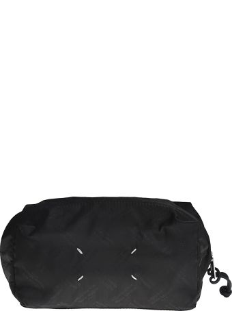 Maison Margiela Logo Print Pouch Bag