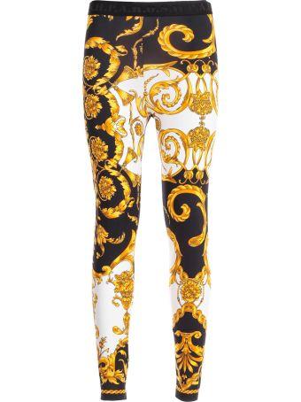Parosh Pants Leggings Printed Baroque