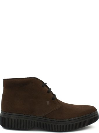 Tod's Brown Ankle Boots.