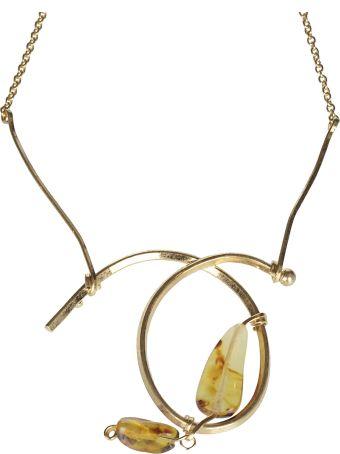 Marni Gemstone Detail Necklace