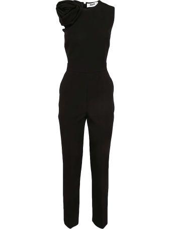 MSGM Sleeveless Corsage Jumpsuit