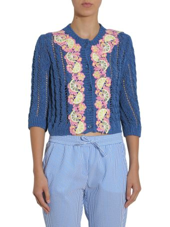 Cardigan With Embroidered Details