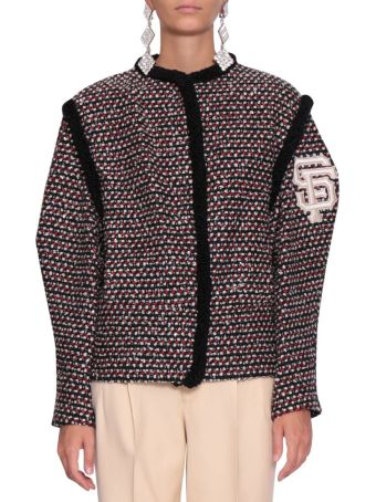Gucci Giants Multicolor Tweed Jacket