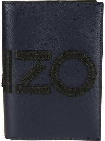 Kenzo Embroidered Passport Holder