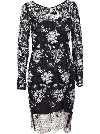 Diane Von Furstenberg Floral Overlay Dress