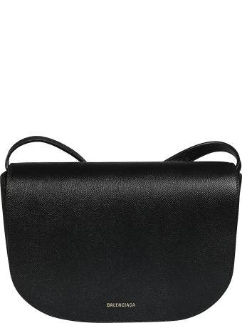 Balenciaga Logo Shoulder Bag