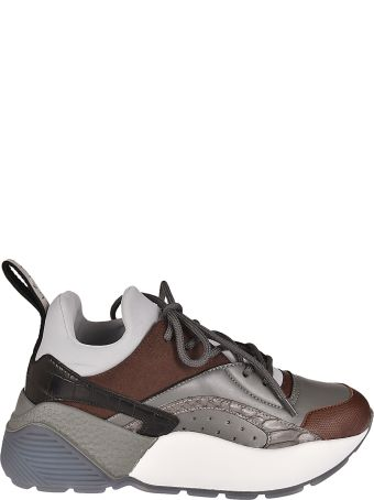Stella McCartney Perforated Detail Platform Sneakers