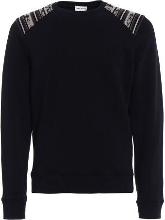 Saint Laurent Jersey Sweatshirt Ikat