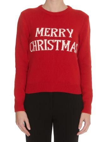 Alberta Ferretti Merry Christmas Sweater